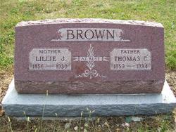 Lillie Jane <i>Longfellow</i> Brown