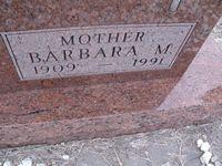 Barbara M <i>Kleidosty</i> Leitner