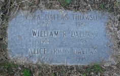 Alice <i>Irwin</i> Dallas