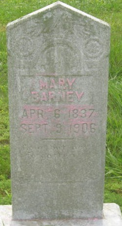 Mary <i>Hendrix</i> Barney(castle)