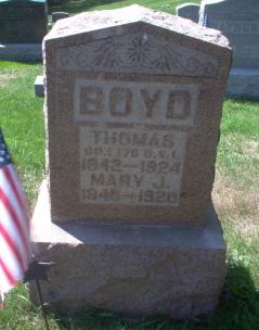 Mary J Boyd