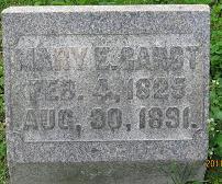 Mary E. <i>Morrison</i> Garst