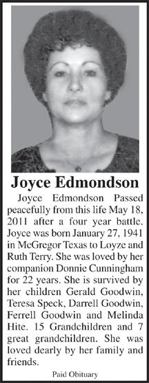 Joyce <i>Terry</i> Edmondson