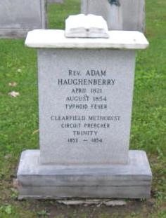 Rev Adam Haughenberry