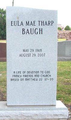 Eula Mae <i>Tharp</i> Baugh