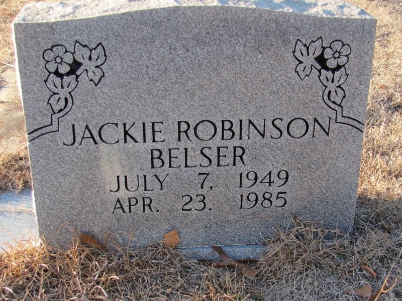 Jackie Robinson Belser...