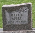 Mary L <i>Kingen</i> Apple
