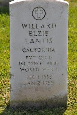 Willard Elzie Lantis