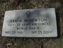 Rev Frank Mondrik Newton