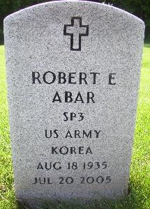 Robert E Abar