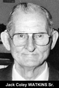 Jack Coley Watkins, Sr