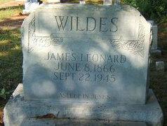 James Leonard Wildes