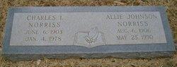 Allie <i>Johnson</i> Norriss