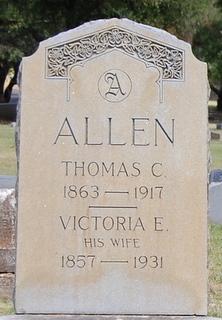 Victoria Ellen <i>Elam</i> Allen