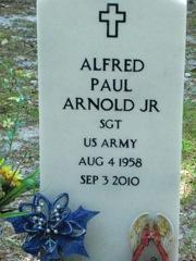 Sgt Alfred Paul Arnold, Jr