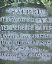Temperence Bates