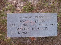 Myrtle Elizabeth Myrt <i>King</i> Bailey