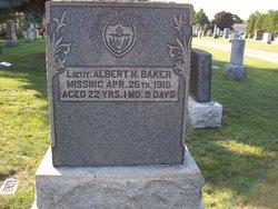 Lieut Albert Nathaniel Baker
