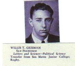 Maj Willis Taubert Geisman
