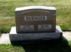 Marie Dorothea Emma <i>Rosen</i> Buenger