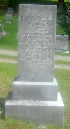 Zeruah <i>Wilson</i> Baldwin