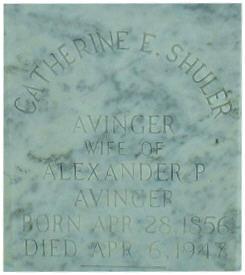 Mary Catherine-Elizabeth <i>Shuler</i> Avinger