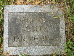 Infant Son Bosley
