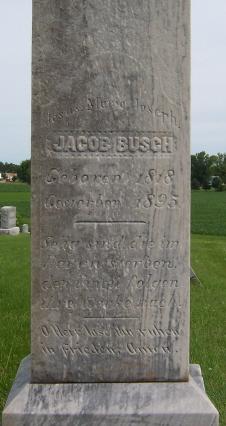 Jacob Jacques Busch