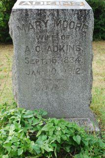 Mary <i>Moore</i> Adkins