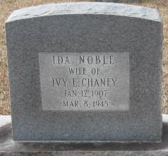 Ida <i>Noble</i> Chaney