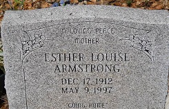 Esther Louise Armstrong