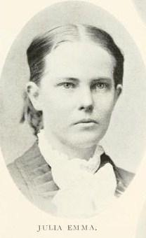 Julia Emma <i>Phillips</i> Burkholder