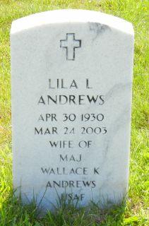 Lila Lee <i>Hall</i> Andrews