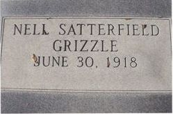 Nell <i>Satterfield</i> Grizzle