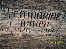 Catherine <i>Boire</i> Abare