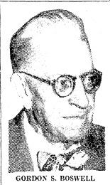 Gordon S. Boswell, Sr