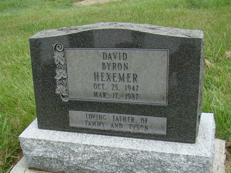 David Byron Hexemer (1947 - 1987) - Find A Grave Photos