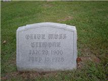 Olive <i>Moss</i> Gilmore