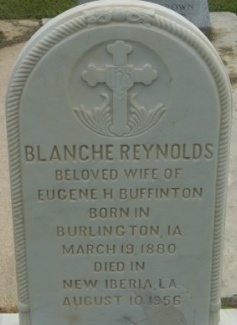 Blanche <i>Reynolds</i> Buffinton