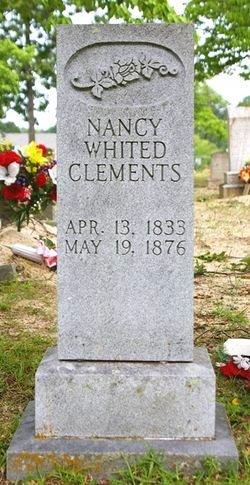 Nancy Catherine <i>Whited</i> Clements