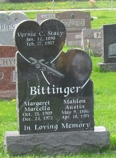 Marcella Margaret <i>Stacy</i> Bittinger