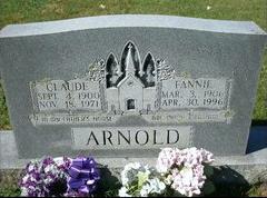 Fannie Mae <i>Earley</i> Arnold