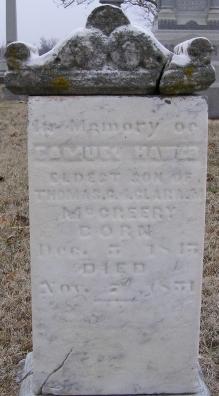 Samuel Hawes McCreery