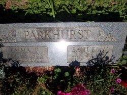 Emma Fredericka <i>Arvickson</i> Parkhurst
