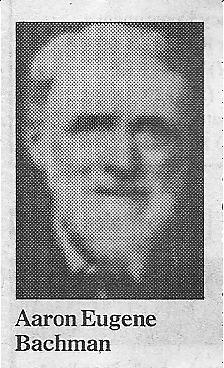 Aaron Eugene Bachman