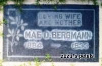 Mae Delame <i>Robinson</i> Bergmann