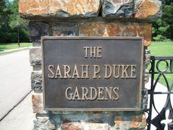 Sarah P. Duke Memorial Gardens