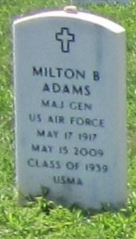 Gen Milton Bernard Adams