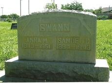 Annie May <i>Dean</i> Swann