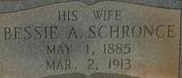 Alice Bessie <i>Schronce</i> Cloninger